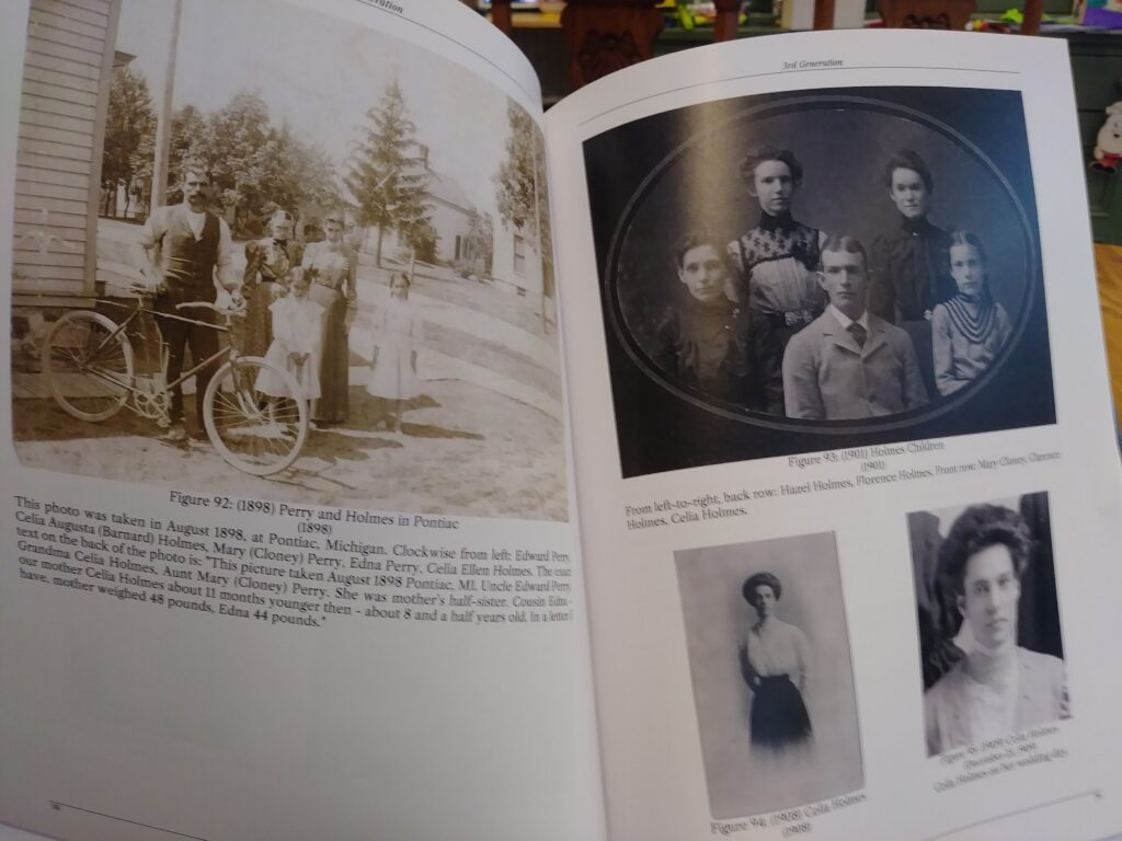 Photos from one of my Family History Books